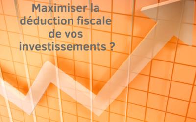 Déduction fiscale pour investissement ordinaire